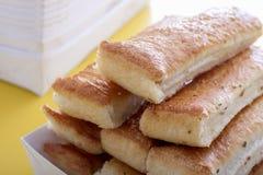 Закройте вверх ручек хлеба Стоковое Изображение RF