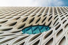 Закройте вверх современного здания в Лос-Анджелесе стоковая фотография rf