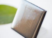 Закройте вверх солнечной батареи или клетки Стоковые Изображения RF