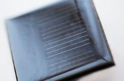 Закройте вверх солнечной батареи или клетки Стоковая Фотография