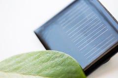 Закройте вверх солнечной батареи или клетки Стоковые Фото