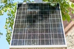 Закройте вверх солнечной батареи или клетки outdoors Стоковое фото RF