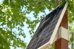 Закройте вверх солнечной батареи или клетки outdoors Стоковые Изображения