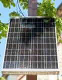 Закройте вверх солнечной батареи или клетки outdoors Стоковая Фотография RF