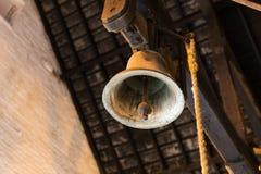 Закройте вверх старого колокола Стоковое Изображение