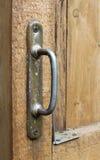Закройте вверх старой ручки двери Стоковые Фото