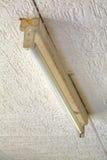 Старая люминесцентная лампа Стоковые Фотографии RF