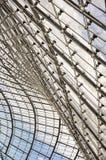 Закройте вверх стеклянной крыши стадиона Олимпии в Мюнхене Стоковое фото RF