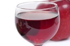 Закройте вверх стекла красного вина Стоковые Фотографии RF