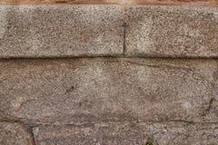 Закройте вверх стены больших серых камней для предпосылки или текстурируйте Стоковые Фото