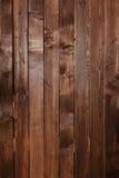Закройте вверх стены сделанной деревянных планок Предпосылка текстуры Брайна Стоковые Фотографии RF