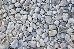 Закройте вверх сломленных камней щебня Стоковые Фото