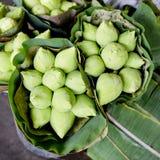 Закройте вверх тайского лотоса стиля на стойке Таиланде Стоковая Фотография RF