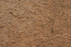 Закройте вверх текстурированного влажного песка Стоковые Изображения