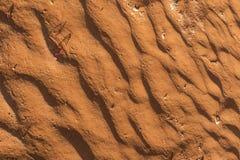 Закройте вверх текстуры дюны в пустыне Намибии стоковое фото