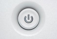 Закройте вверх для включеный-выключеной кнопки Стоковые Изображения RF