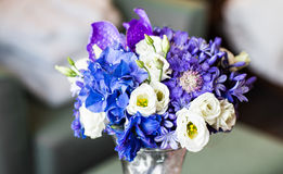 Закройте вверх bridal букета свадьбы Стоковая Фотография