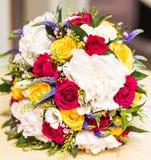 Закройте вверх bridal букета свадьбы Стоковые Фото