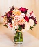 Закройте вверх bridal букета свадьбы Стоковое Изображение RF