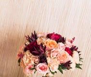 Закройте вверх bridal букета свадьбы Стоковое Изображение