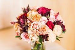 Закройте вверх bridal букета свадьбы Стоковые Изображения