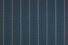 Закройте вверх pinstriped предпосылки текстуры ткани стоковые фотографии rf