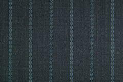 Закройте вверх pinstriped предпосылки текстуры ткани стоковые изображения rf