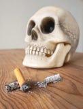 Закройте вверх stub сигареты Стоковая Фотография RF