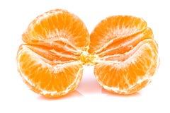 Закройте вверх tangerine Стоковое Изображение
