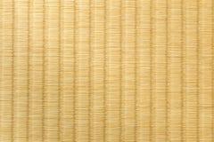 Закройте вверх tatami, японской традиционной комнаты матовой, показывающ craf Стоковая Фотография RF