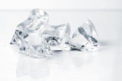 закройте задавленный льдед вверх Стоковая Фотография RF