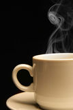 закройте кофейную чашку вверх Стоковые Фотографии RF