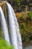 закройте падения вверх по wailua Стоковое Фото