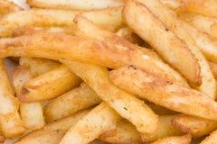 закройте fries вверх стоковые изображения rf