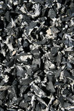 закройте shredded автошину вверх Стоковое Изображение