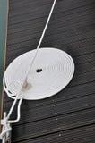 закрутка веревочки стыковки шлюпки доски Стоковая Фотография RF