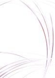 закрутка помоха пурпуровая Стоковая Фотография RF