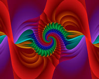 закрутка радуги Стоковое Изображение RF