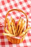 закрутки печенья сыра Стоковые Изображения RF
