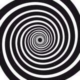 Закручивает в спираль предпосылка иллюзион оптически также вектор иллюстрации притяжки corel иллюстрация штока