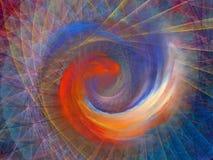 Закручивает в спираль предпосылка Стоковые Изображения