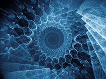 Закручивает в спираль предпосылка Стоковая Фотография RF