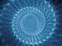 Закручивает в спираль предпосылка Стоковая Фотография