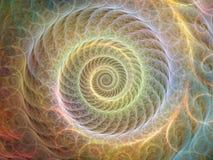 Закручивает в спираль предпосылка Стоковое Изображение