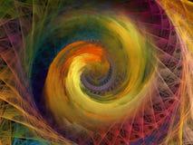 Закручивает в спираль предпосылка Стоковое Изображение RF