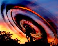 закручивать езды масленицы Стоковая Фотография RF