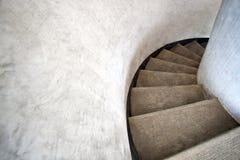 закручивают в спираль лестницы Стоковая Фотография RF