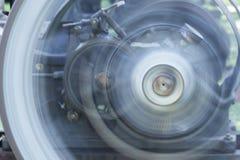закручивая колеса Стоковое Изображение