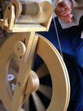 закручивая колесо Стоковое фото RF