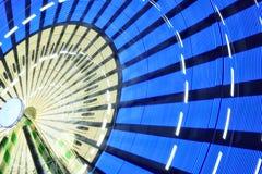 Закручивая колесо Ferris на ноче Стоковые Изображения